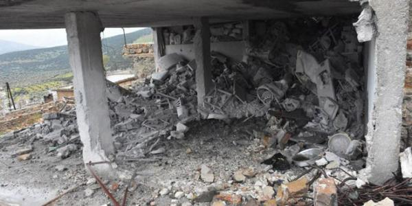 Turkish forces bombard civilians' houses in Afrin area