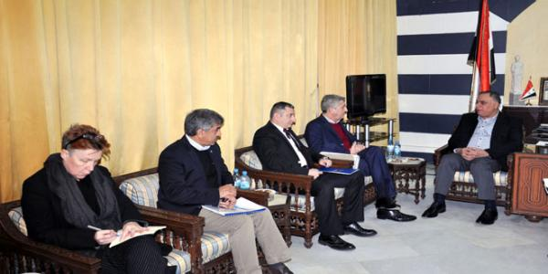 Homs Governor, UNHCR discuss relief and humanitarian situation in Homs