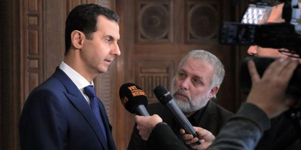 President al-Assad to Belgian media: Cooperation between the US and Russia is going to be positive for the rest of the world, including Syria