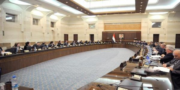 "Cabinet approves the ""National Program of post-war Syria"" draft project"