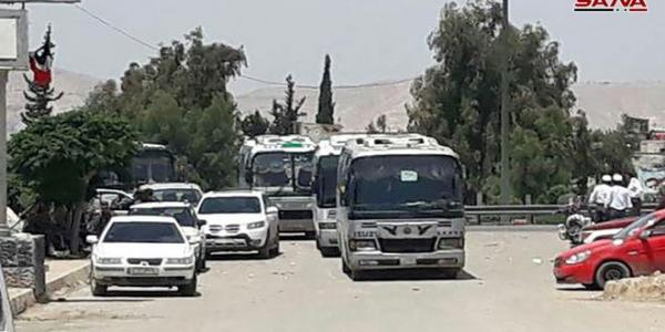 Evacuation of terrorists from Yalda, Babila and Beit Sahem continued