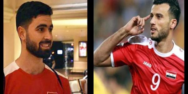 Syrian footballers Somah, Khribin nominated for Best Arab Football Player of the Year Award 2017