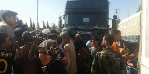 Deir Ezzor Governor: Aid convoys ready to be sent to eastern neighborhoods of the city