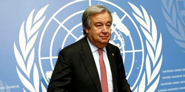 Guterres welcomes establishment of de-escalation zone in south Syria