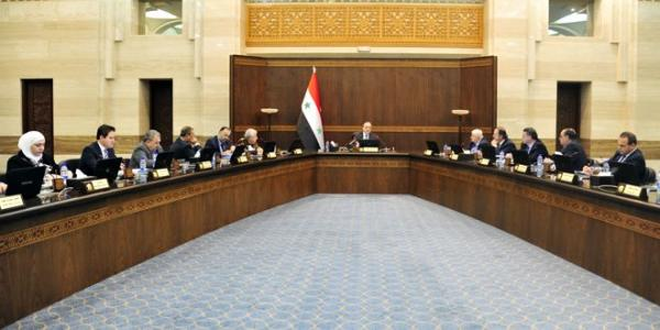 The Cabinet hails Syrian Arab Army�s victories, discusses bill of ICT judiciary