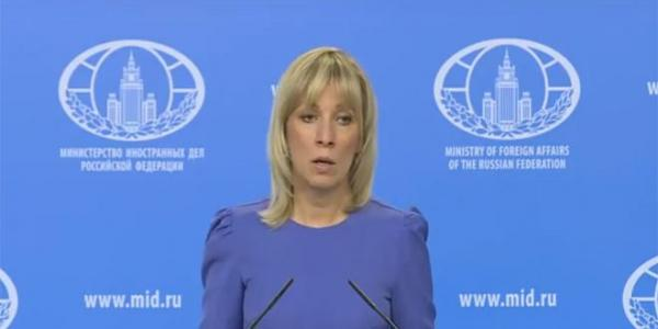 Zakharova: US missiles should target terrorists in Syria
