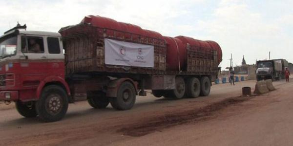 Red Crescent calls for guarantees to deliver humanitarian convoy to Afrin