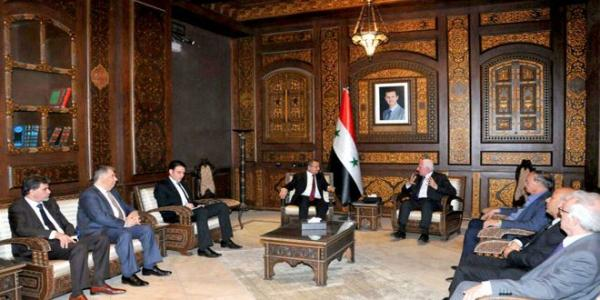 Interior Minister: The Palestinian cause will remain a top Syrian priority