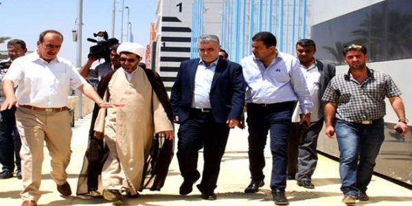 Information Minister, IRTVU Chief inspect preparations for Damascus International Fair