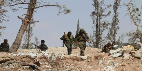 Army eradicates last gatherings of Jabhat al-Nusra at Tal al-Maqtoul in Damascus Countryside