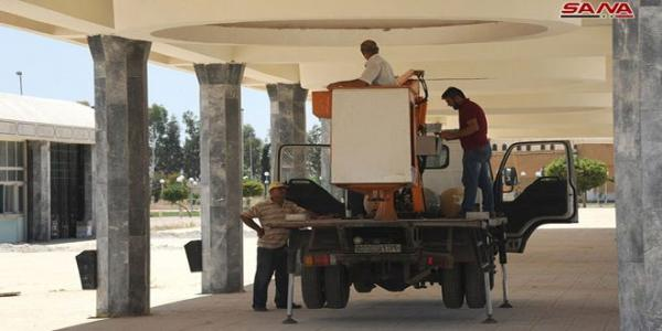 Technical preparations underway ahead of 60th Damascus International Fair