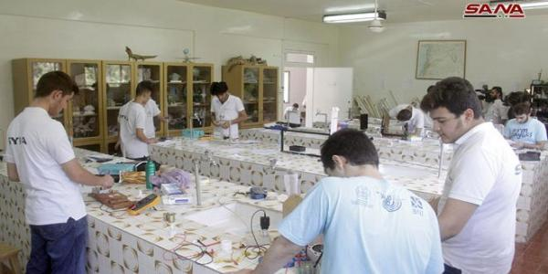 Syrian Olympiad's scientific teams wrap up preparations for international Olympiads