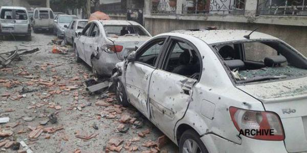 Four children injured due to attacks with shells on Damascus and its Countryside