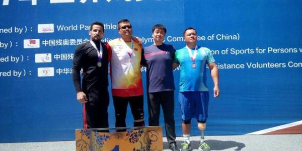 Two gold, three silver medals for Syrian team for private sports in Chinese Grand Prix