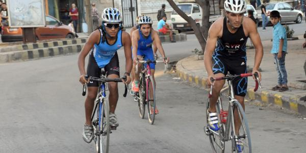 Republic Triathlon Championship kicks off in Aleppo