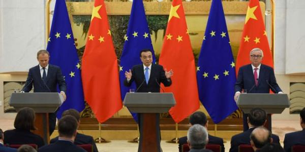 China, EU affirm support for political settlement in Syria