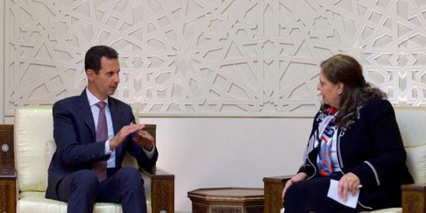 President al-Assad stresses taking strict action against corruption