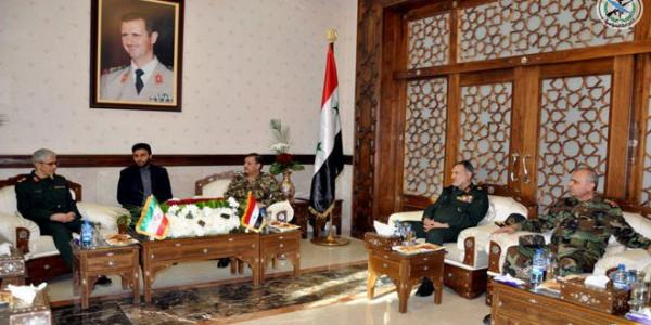 General al-Freij: We will remain in the resistance axis…Bagheri: Iran committed to Syria unity