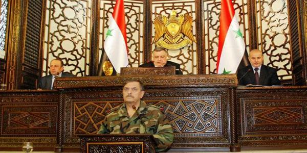 Defense Minister at People�s Assembly: Syrian Arab Army will continue fighting terrorism until it is eliminated