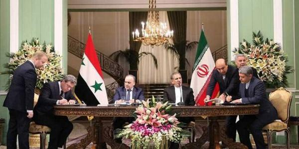 Updated-Syria and Iran sign five contracts on economic cooperation
