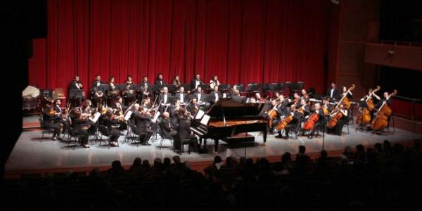 Musical concert brings together veteran and young musicians at Opera House in Damascus