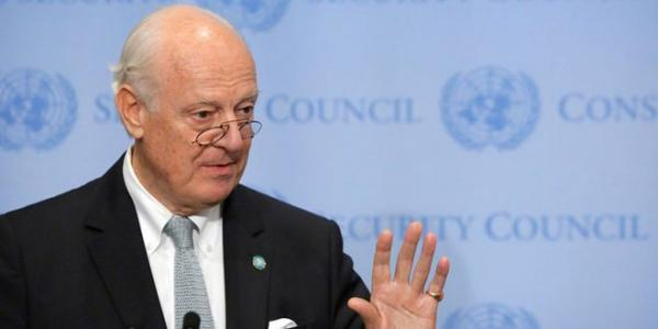 De Mistura: Tehran meeting at level of experts worked effectively on enhancing cessation of hostilities agreement