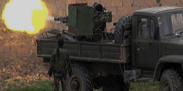 Army unit destroys command and communications center for ISIS in Homs countryside