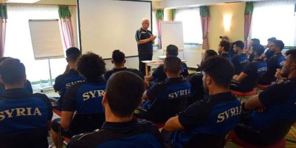 Syria's national football team continues its training camp in Vienna