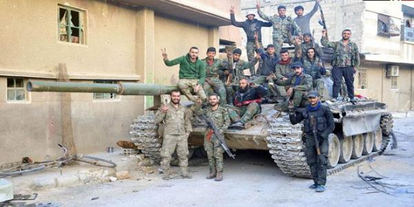 Army regains control over Haza town in Eastern Ghouta