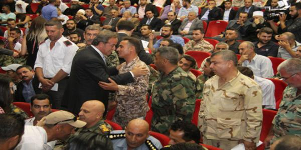 290 families of Army's martyrs and wounded personnel honored in Sweida