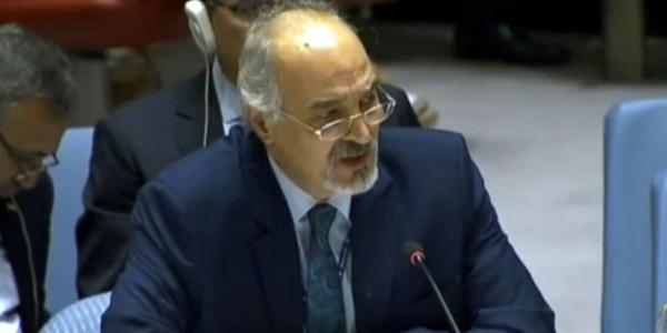 Al-Jaafari: Western states planning to stage new chemical incidents to obstruct political process and justify aggression on Syria