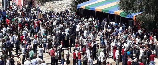 Thousands of displaced return homes in Darayia after liberating it from terrorism