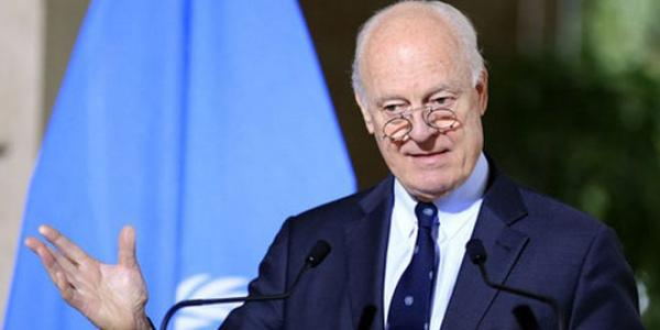 "De Mistura: Intra-Syrian talks in Geneva should be held ""without preconditions"""