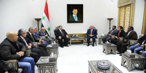 Sabbagh: Syria is resilient and depends on Arab peoples' will