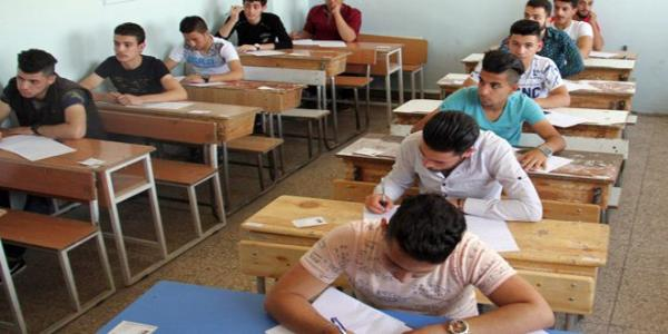 High school students evacuated from Yarmouk Camp to take final exams for 2nd session