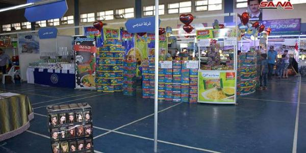 125 companies participate in monthly shopping festival �Made in Syria� in Aleppo