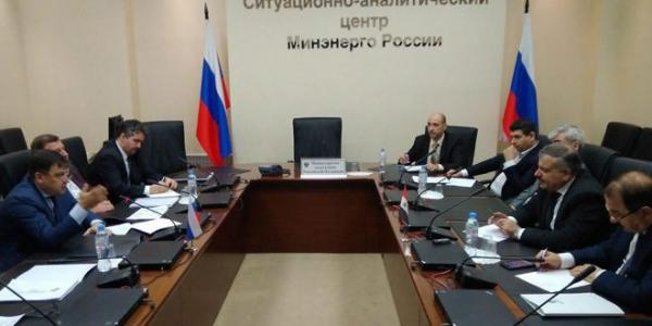 Syria, Russia discuss cooperation in energy field