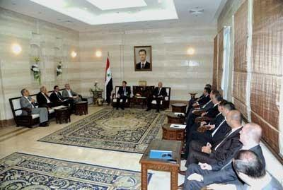 PM: We will only cooperate with Syria's friends in reconstruction stage