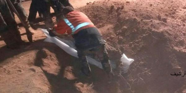 Mass grave of 8 martyrs discovered in Raqqa countryside