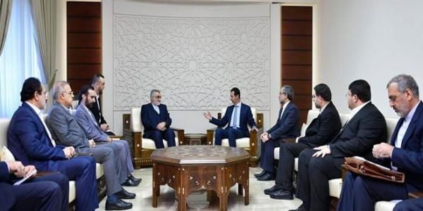 President al-Assad to Boroujerdi: Iran and all states that support Syrian people are partners in achievements against terrorists