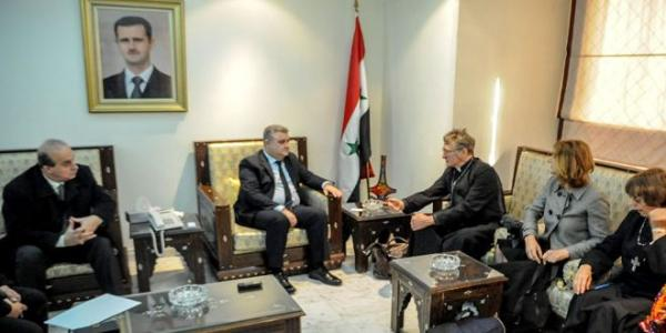 Information Minister, Deputy Foreign Minister meet Australian delegation