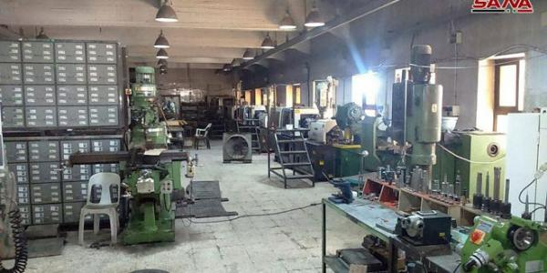 Al-Arqoub industrial zone in Aleppo, defies terrorism and returns to production