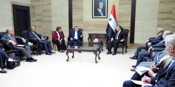 Meeting to discuss technology transfer of vaccine production from Cuba to Syria