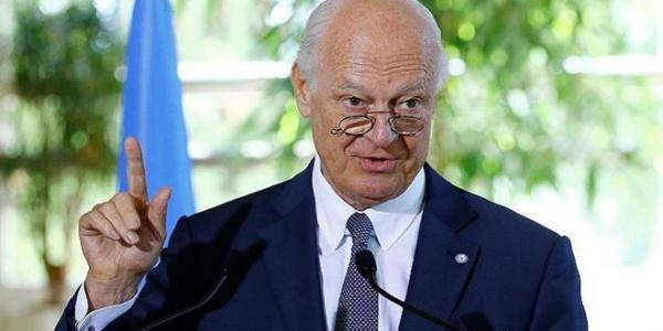 De Mistura: Only Syrians have the right to determine their destiny without foreign dictates