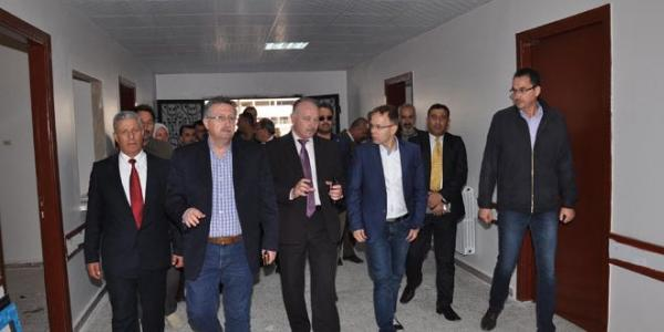 German parliamentary delegation visits Homs