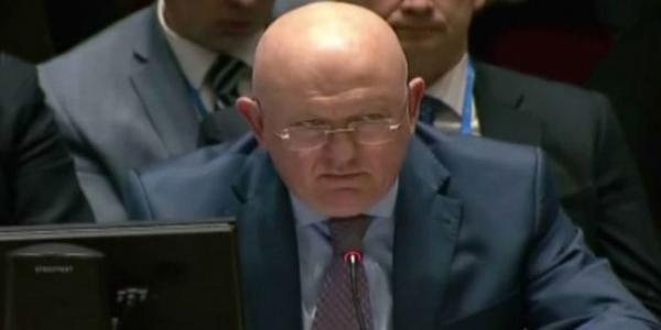 Nebenzya: Russian experts didn't find any indication or impact for chlorine gas or any other chemical substances in Douma