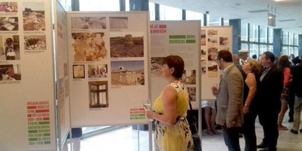 Prague hosts photo exhibition on Syrian monuments sabotaged by terrorists