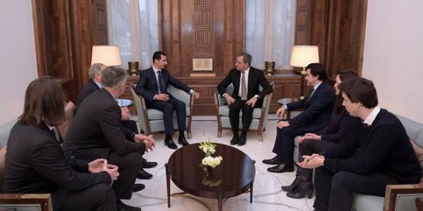President al-Assad: France's policy on Syria is disconnected from reality of war and has helped inflame situation