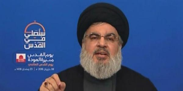 Nasrallah: Syria triumphed over terrorism, Al-Quds will return to its Palestinian people