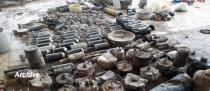 Warehouse for IEDs, mortar launching pad, mortar shells found in Homs Countryside